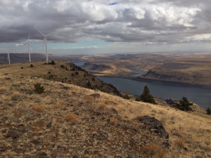 Site of proposed pumped storage project near Goldendale