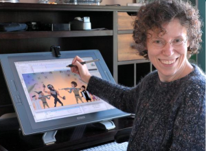 Cartoonist and animation filmmaker Nina Paley, creator of Sita Sings the Blues and Seder Masochism, is the guest on Words and Pictures with S.W. Conser on KBOO Radio