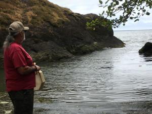 Sam Robinson at Chinook Point