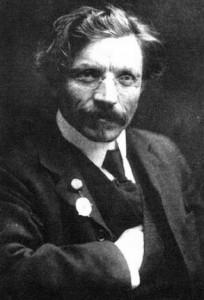 Writer Sholem Aleichem